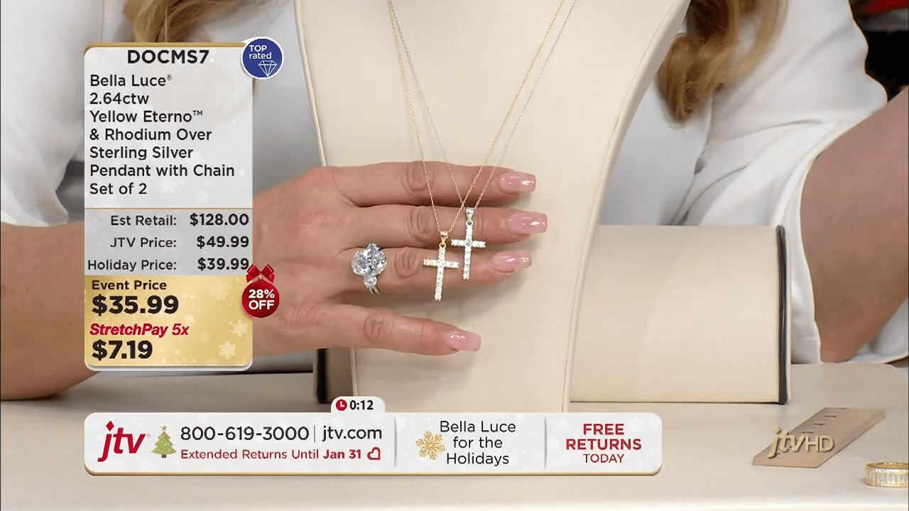Jewelry Television Live Stream 2-12-5 screenshot