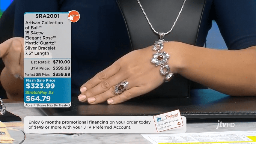 Jewelry Television Live Stream 2-9-32 screenshot