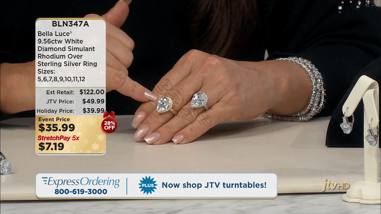 Jewelry Television Live Stream 3-36-21 screenshot