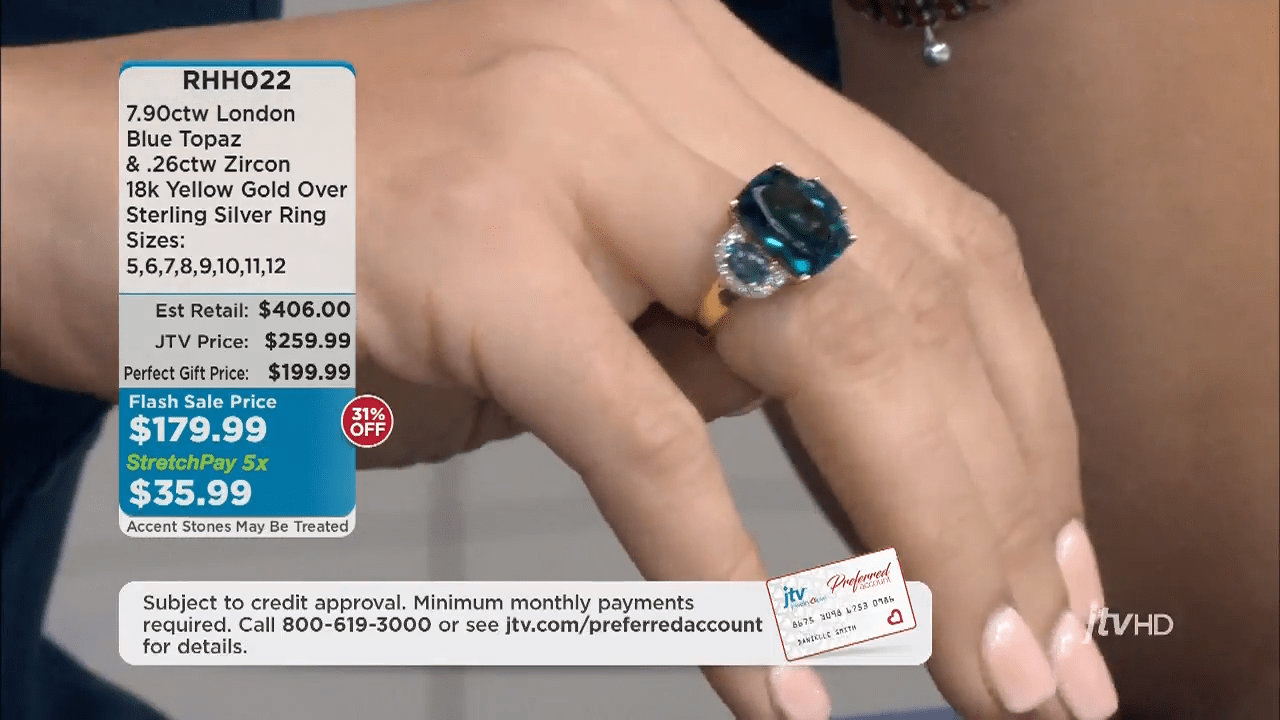 Jewelry Television Live Stream 4-39-25 screenshot