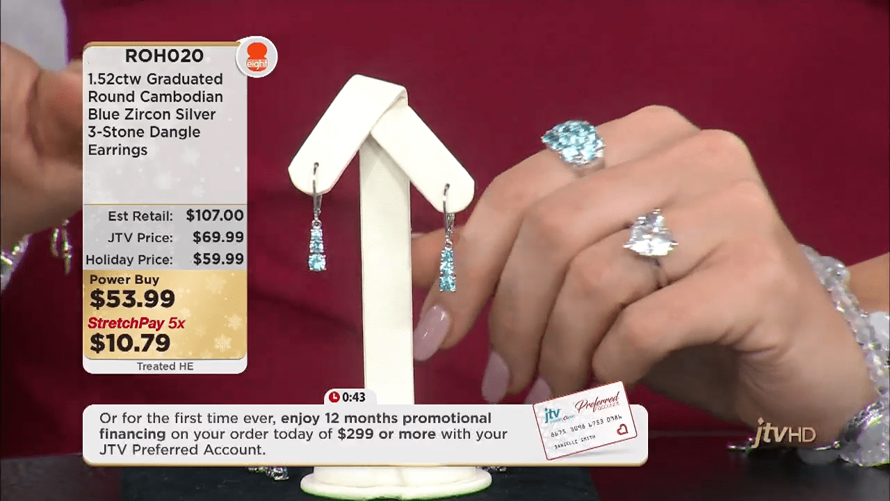 Jewelry Television Live Stream 5-25-35 screenshot