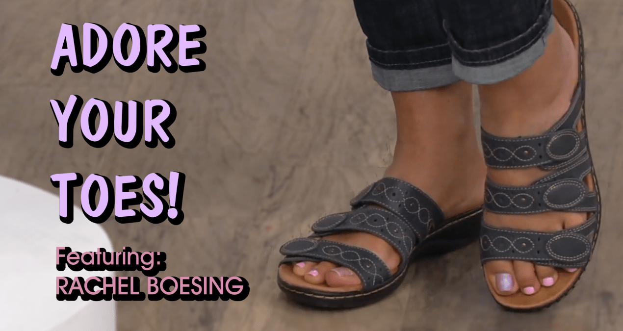 👣👡ADORE YOUR TOES: Rachel Boesing💅🏾 (3/13/2019)