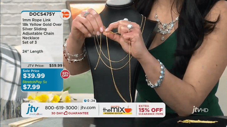 Jewelry Television Live Stream 13-14-21 screenshot
