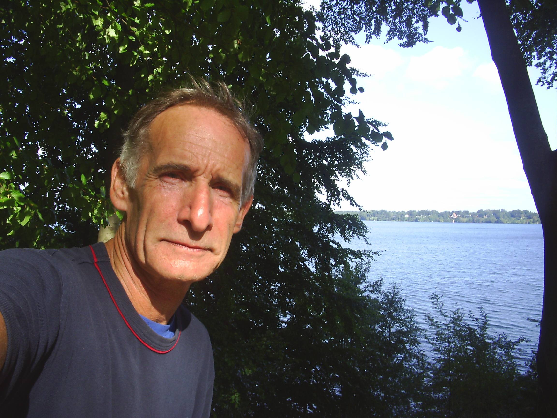 Erik K Abrahamsen, born 1945 in Skagen, Denmark. Photo september 2008 by Furesøen, Nordsjælland