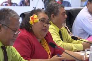 Number of female Members of Parliament in Niue drops