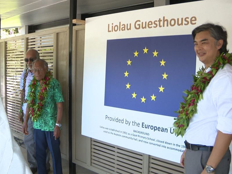 Million dollar EU funded accommodation project opens in Liolau, Avatele