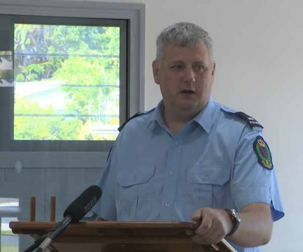 New Chief of Police takes oath