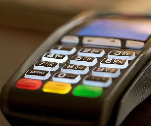 Reduction in EFTPOS sales due to COVID -19 & closure of borders