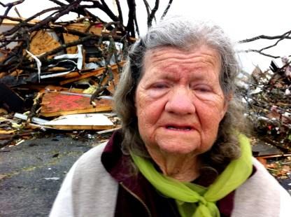 """What do I do now?"" Mary Hazelbaker lost her Joplin home to the tornado"