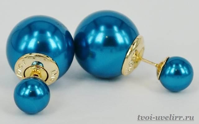 Серьги-шарики-17