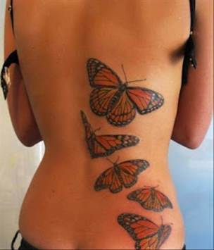 Тату-бабочка-3