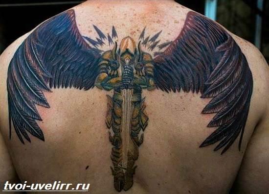 Тату-крылья-Значение-тату-крылья-Эскизы-и-фото-тату-крылья-5