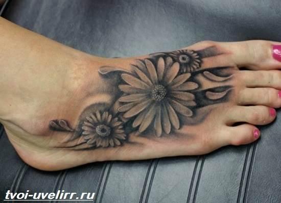 Черно-белые-тату-Значение-чёрно-белых-тату-Эскизы-и-фото-черно-белых-тату-5