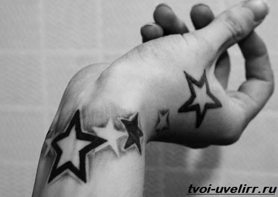 Черно-белые-тату-Значение-чёрно-белых-тату-Эскизы-и-фото-черно-белых-тату-9