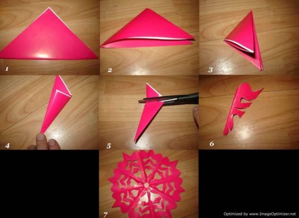 Как сделать снежинку из бумаги | Твой ювелир