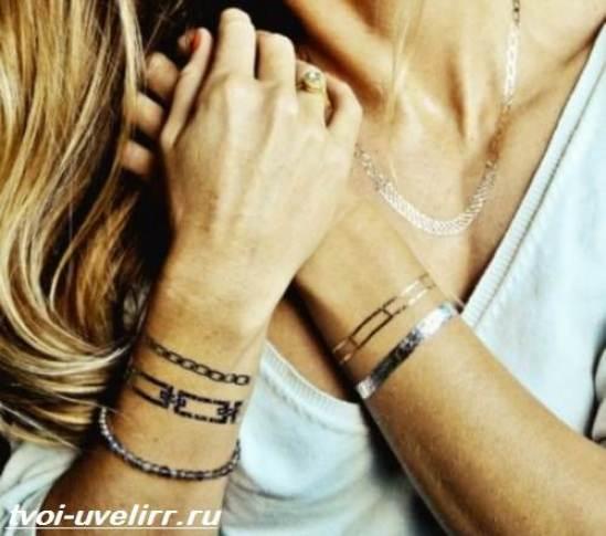 Тату-браслет-Значение-тату-браслет-Эскизы-и-фото-тату-браслет-7