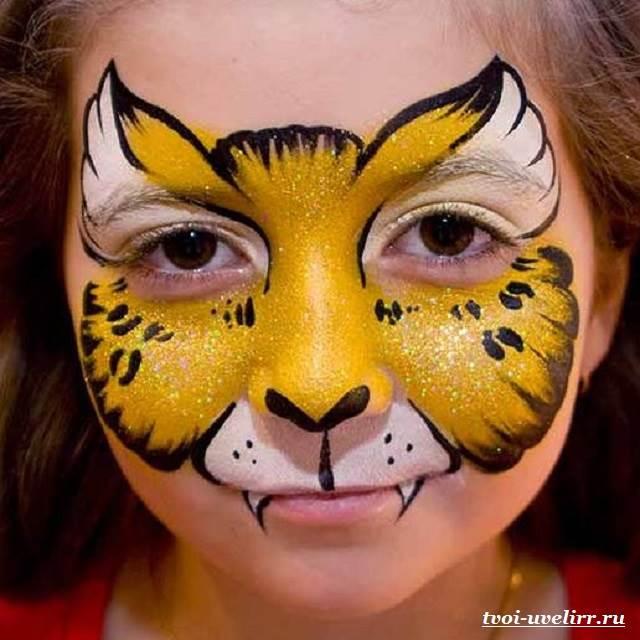 Аквагрим-Фото-аквагрима-Аквагрим-для-детей-5