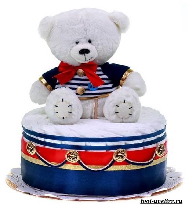Торт-из-памперсов-Торт-из-памперсов-своими-руками-11