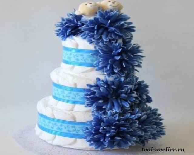 Торт-из-памперсов-Торт-из-памперсов-своими-руками-7