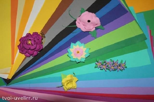 Что-такое-фоамиран-Цветы-из-фоамирана-7