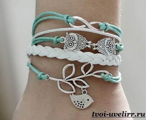 Браслеты-из-шнурков-Плетение-браслетов-из-шнурков-12