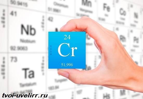 Хром-элемент-Свойства-хрома-Применение-хрома-1