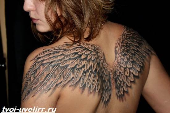 Тату-ангел-Значение-тату-ангел-Эскизы-и-фото-тату-ангел-7
