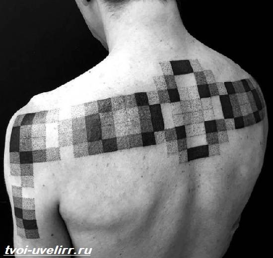 Тату-геометрия-Значение-тату-геометрия-Эскизы-и-фото-тату-геометрия-10