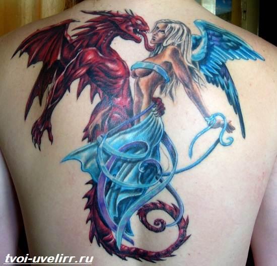Цветные-тату-Значение-цветных-тату-Эскизы-и-фото-цветных-тату-9