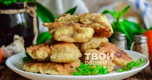 Хек в кляре - вкусный рецепт с пошаговым фото