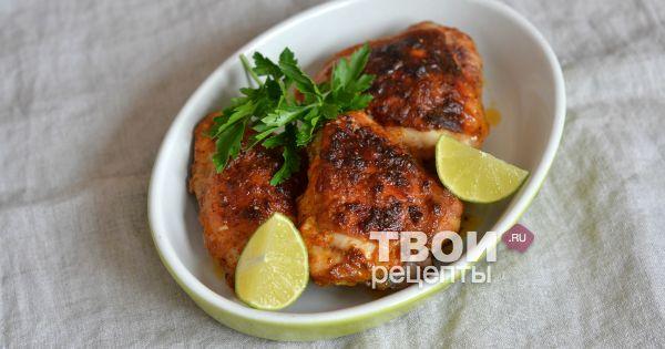 """Куриные бедра """"барбекю"""" - вкусный рецепт с пошаговым фото"""