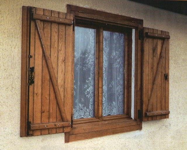 Старенькое окно