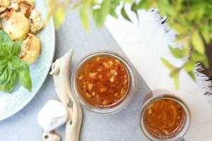 Domácí sweet chilli omáčka
