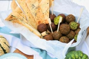 Domácí falafel: hráškový & dýňový