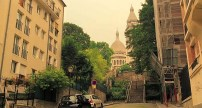 Near Sacre Coeur - Midnight in Paris