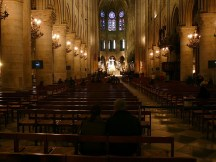 The Nave of Notre Dame, Paris