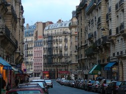 Rue St. Germain, Paris on the Left Bank