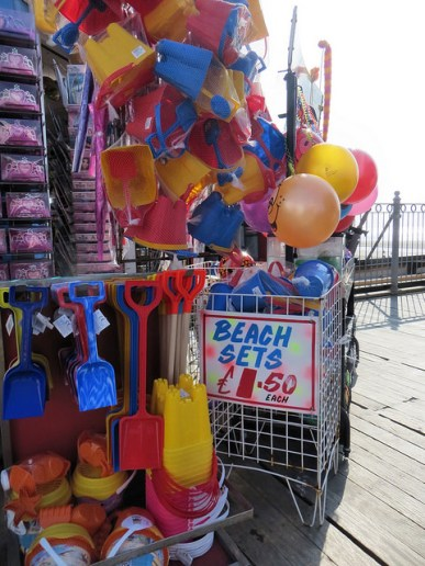 Buy a bucket and spade for the Blackpool beaches
