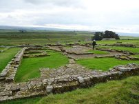 Barracks at Housesteads Roman Fort, Hadrian's Wall
