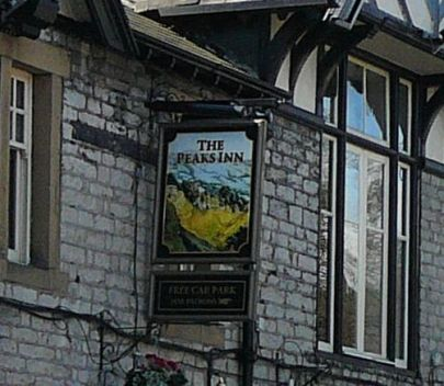 Peaks Inn, also in Castleton, in the Peak District
