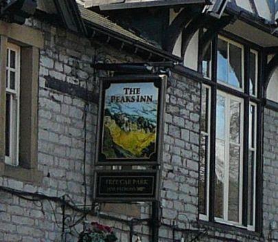 Peaks Inn, also in Castleton, in the Peak District