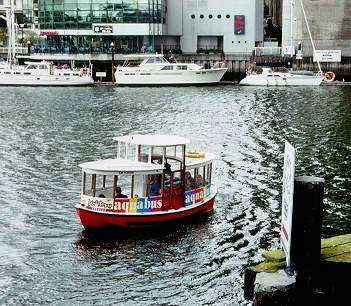 Vancouver: Granville Island Aquabus ferry