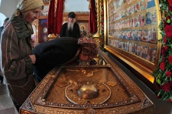 Тропарь, кондак, величание и молитва святому преподобному Александру Свирскому