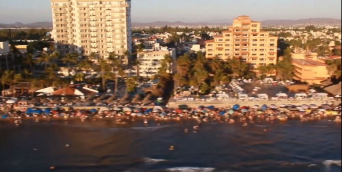 Alerts from the United States are not driving away tourism in Sinaloa