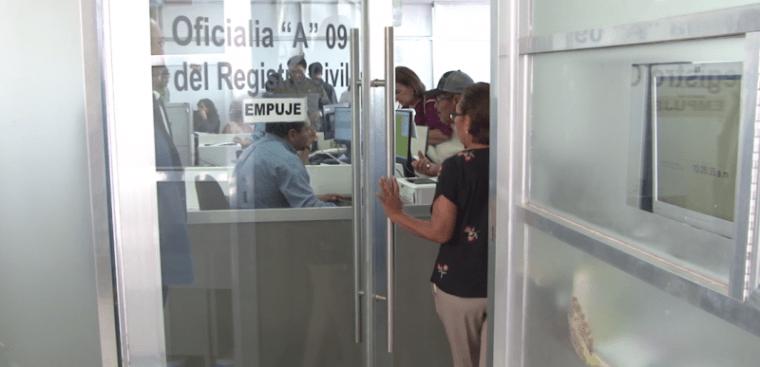 Continúan repuntes de trámites en Registro Civil en Mazatlán