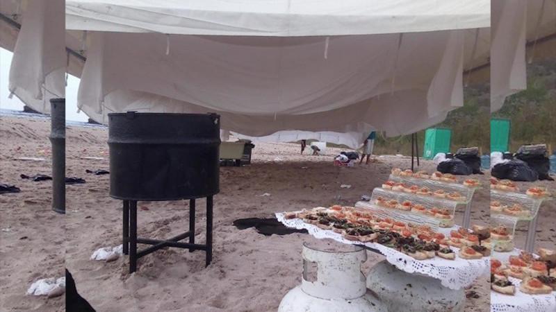 Nadie por encima de la Ley, dice Alcalde sobre fiesta en Isla Venados