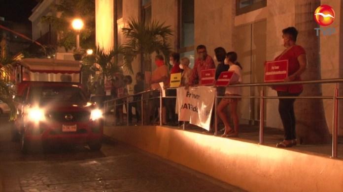 Se hartan del ruido y protestan en el Centro Histórico de Mazatlán   Lo  relevante   Noticias   TVP   TVPACIFICO.MX