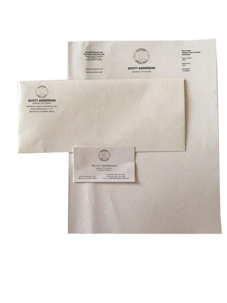 letterhead envelope business card - 2