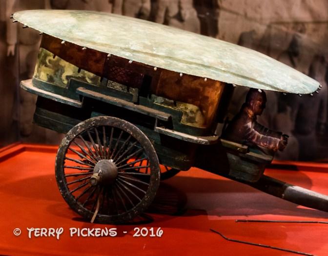 Terracotta Army Wagon Model