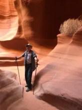 Noble Dean hiking
